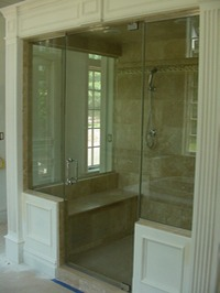 Quality Frameless Shower Doors And Mirrors Sterling