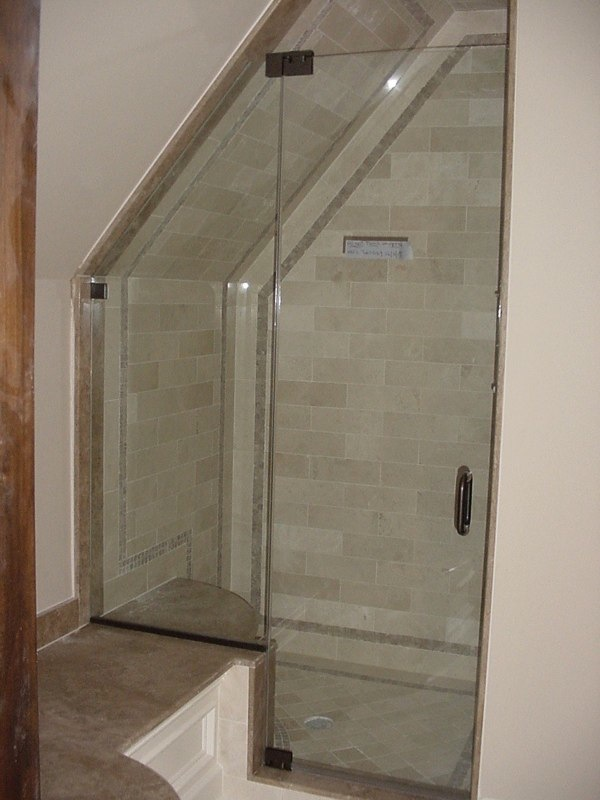 FRAMELESS SHOWER DOOR GALLERY | STERLING MIRROR INC.